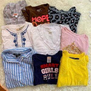 Girls Size 6 Long Sleeves!